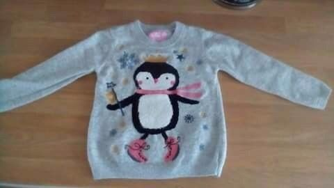 Girls Christmas jumpers