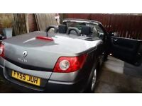 Automatic 55plate Megane convertible