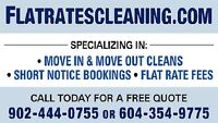 Moving? Need a cleaner? 902-444-0755