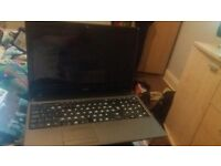 OFFERS!!! FOR PARTS ONLY, smashed screen and keys missing . Windows 7