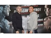 2* £100 Tickets for Terry Flanagan/ Petrov, Liam Smith/ Liam Williams Fights - both for £90!