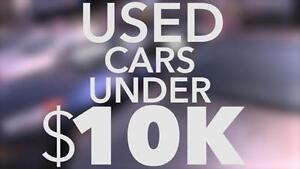 Looking for a Quality Vehicle Under $10K? We Can Help!