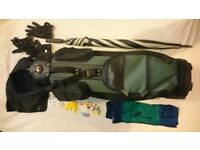 Golf Bag (Mitsushiba) With some accessories