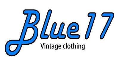 Blue17 Vintage clothing