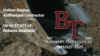 Basement waterproofing/foundation repair