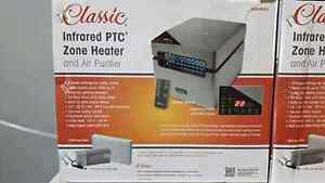 Classic infrared room Heater/Air Purifier with remote control Cambridge Kitchener Area image 2