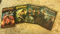 Harry Potter movies; 3DVDs/$10.00 + 1 free VHS with the purchase