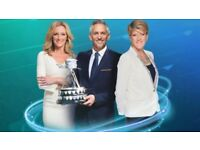 Sports Personality Tickets x 4