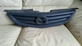 New mazda 323 f sport primmed grey usa pro tega front grill