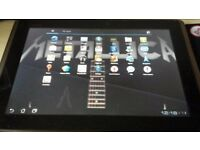 asus 10 inch boxed tablet and charger