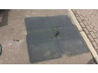 Zafira boot carpet ,,rear seat cover