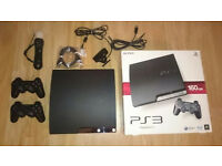 PS3 + 2 controllers + ps move + ps eye camera