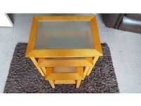 Nest of 3 tables for sale