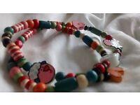 Wood bracelet/necklace