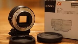 Sony Alpha to e-mount adapter