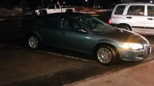 2004 Chrysler  Sebring 4 door Sedan