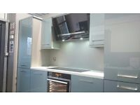 Kitchen Display Units. Acrylic Doors Not including appliances