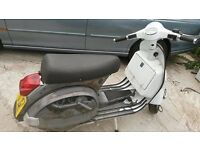 CUSTOM PAINTED VESPA PX125E, LONG MOT