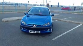 REDUCED!! peugeot 206 1.4 sport 78000 miles