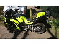 kawasaki gtr 1400 2011 breaking bike