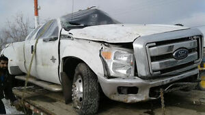Wrecking 2015 Ford F-350 Crew Cab Dually Diesel