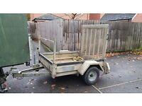 Heavy duty plant trailer 750kg Gross suit quad mower logs landscaper tree surgeon builder