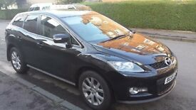 URGENT SALE!!Jan 2009 Mazda cx7 cx 7 2.3 4x4 1 Year MOT Full Service History 2 Owners