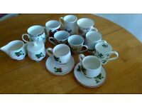 China mugs and tea set