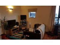 Modern 1 bed apartment with a reception room located in the heart of Sheffield.