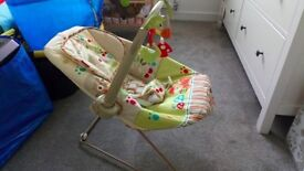 Excellent condition Fisher Price woodsy friends bouncer