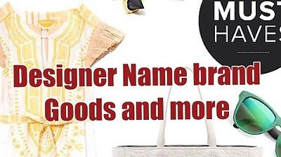 Designer Name Brand Goods And More