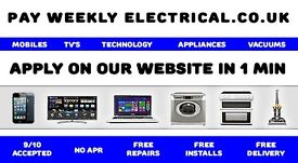 Mobile Phones TV's Laptops Tablets Kitchen Appliance's Vacuum's - PAY WEEKLY ELECTRICAL