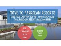 **LOVE YOUR CARAVAN BUT TIRED OF YOUR PARK? BRING ON OPTIONS AVAILABLE AT WHITLEY BAY HOLIDAY PARK