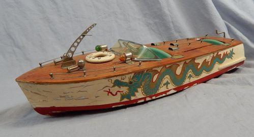Vintage Toy Boat 11