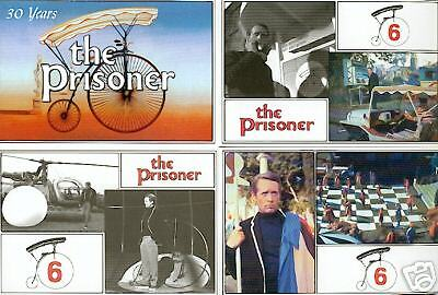 PATRICK McGOOHAN THE PRISONER 21 POSTCARD UK SET ITC TV