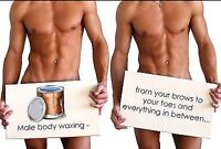 Specializing in mens  body waxing!!