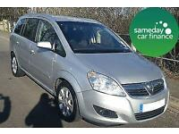£113.66 PER MONTH SILVER 2008 VAUXHALL ZAFIRA 1.9 CDTi BREEZE PLUS PETROL MANUAL