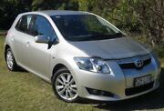 2008 Toyota Corolla ZRE152R Conquest Silver 6 Speed Manual Hatchback Bundaberg Central Bundaberg City Preview