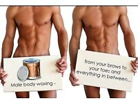 HAIRLUSS LEEDS - FULL BODY MALE BODY WAX ONLY 75!