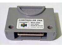 Nintendo 64 Memory Card - N64