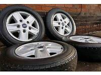 FORD TRANSIT ALLOYS AND TYRES FROM LIMITED MODEL