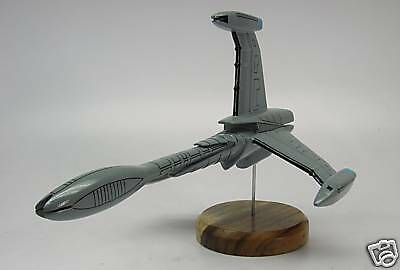 ISA Victory Class Babylon-5 Spacecraft Desktop Kiln Dry Wood Model Small