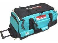 makita tool bag with wheels and handle