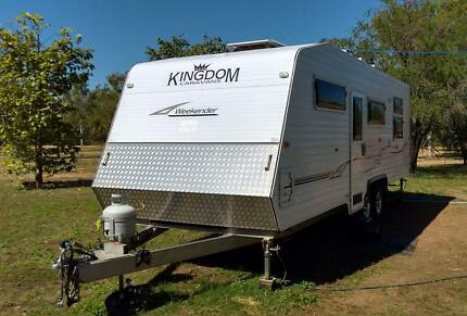 Kingdom Custom Semi Off Road Caravan
