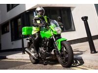 Experienced motorcycle couriers urgently required - guarantees available