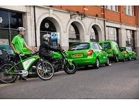Green Courier Urgently Requires Company Bike Riders for busy Central London Circuit