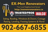 Your Local Neighbourhood Heroes ~ EX-Men Renovators