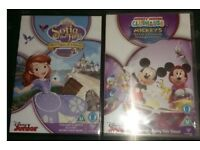 Childrens dvds mickey mouse clubhouse and sofia the first