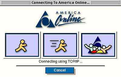 Cover your ears, it's dial-up time