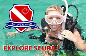 33% OFF SCUBA DIVING CERTIFICATION COURSE FROM THE DIVE ACADEMY
